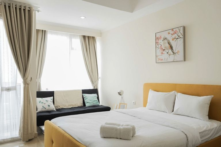 New Furnished and Exclusive Studio at Menteng Park Apartment By Travelio, Central Jakarta