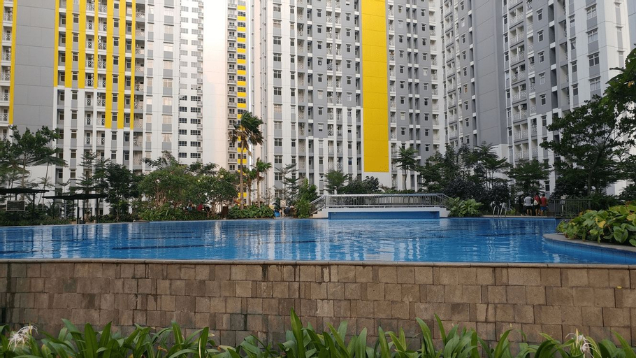 Simply and Cozy 2BR at Springlake Bekasi Apartment By Travelio, Bekasi