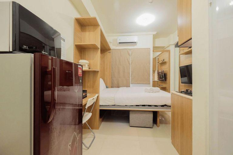 Modern Style Studio Apartment at Green Pramuka City By Travelio, Central Jakarta