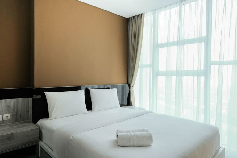 Cozy 1BR Apartment at Brooklyn near IKEA Alam Sutera By Travelio, South Tangerang