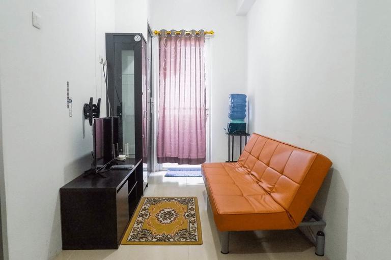 Modern 1BR Apartment at Menara Rungkut By Travelio, Surabaya