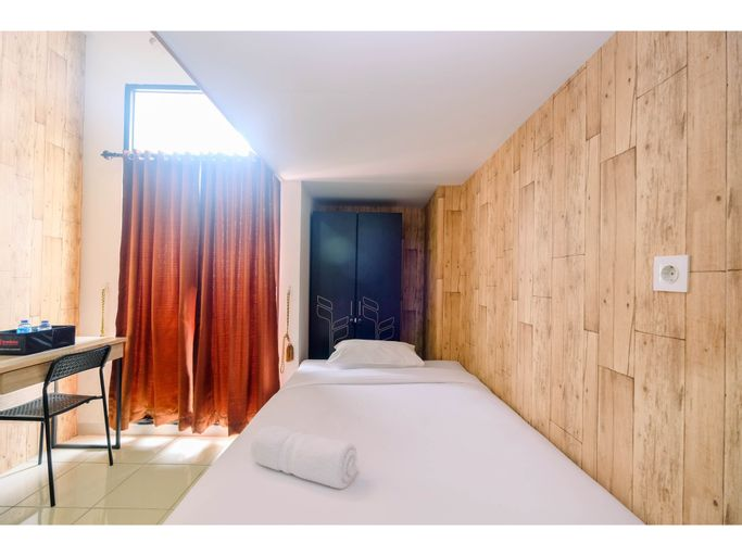 Comfy and Trendy Studio at Dave Apartment By Travelio, Depok