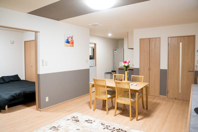 101 Biei new and cozy apartment free wifi parking, Biei