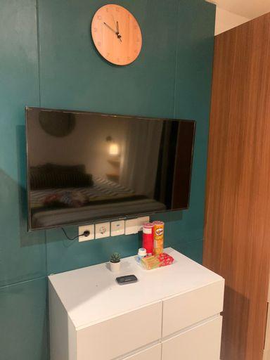 Comfort Living Studio at West Vista Apartment (Min 2 night stay), West Jakarta