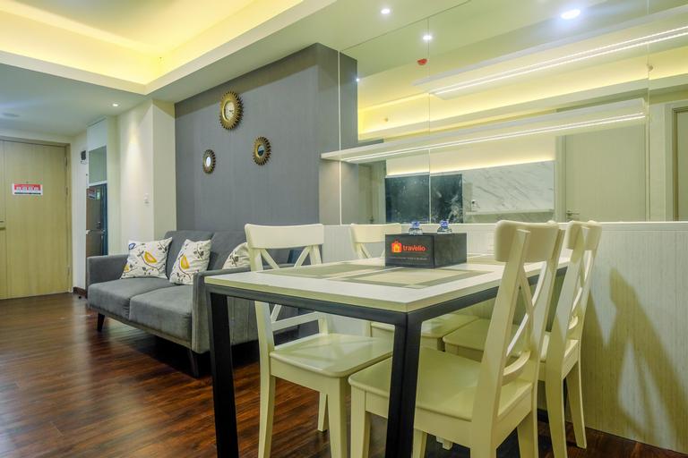 New Furnished and Minimalist 2BR + 1 Office Room at Meikarta Apartment By Travelio, Cikarang