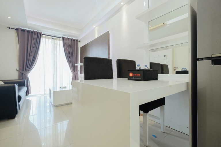 Modern 1BR Apartment at Casa Grande Residence By Travelio, South Jakarta