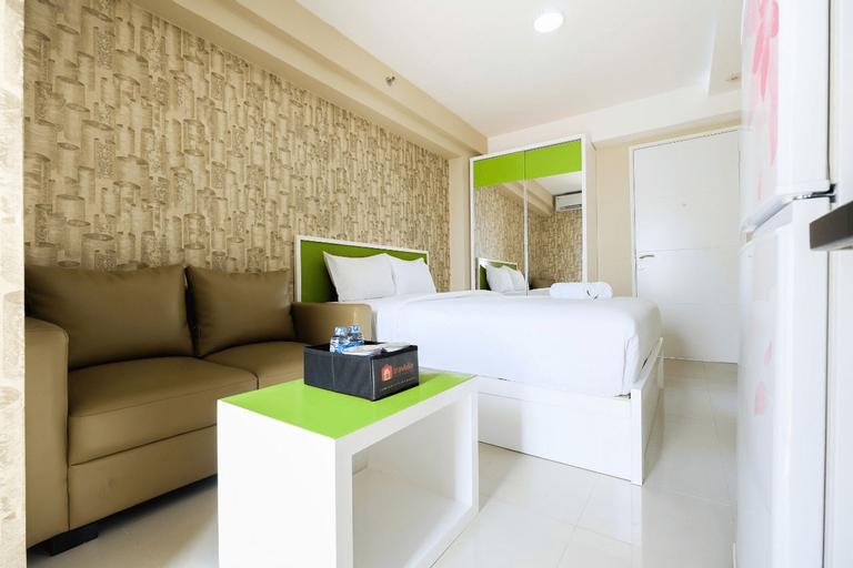Modern and Minimalist Studio Bassura City Apartment By Travelio, East Jakarta