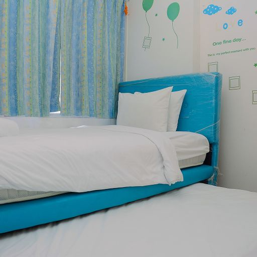 Comfort 1BR with Study Room Menteng Square Apartment By Travelio, Central Jakarta