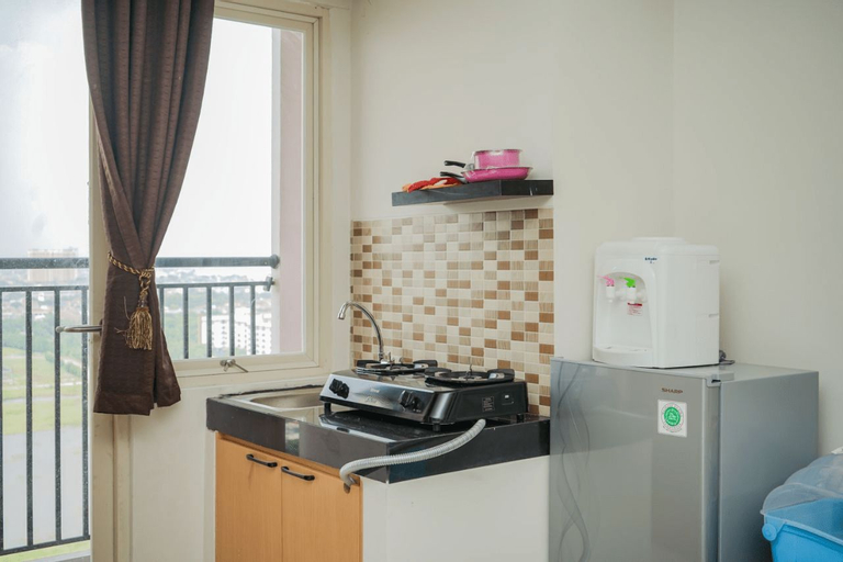 Simply Minimalist Studio at Green Park View Apartment By Travelio, West Jakarta
