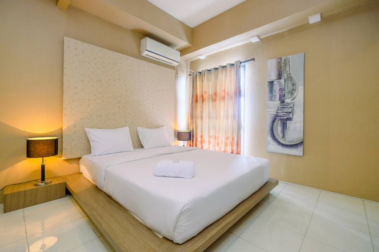 Spacious and Comfortable @ 1BR Salemba Residence Apartment By Travelio, Central Jakarta