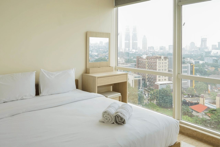 Wonderful 2BR Menteng Park Apartment with Private Lift By Travelio, Central Jakarta