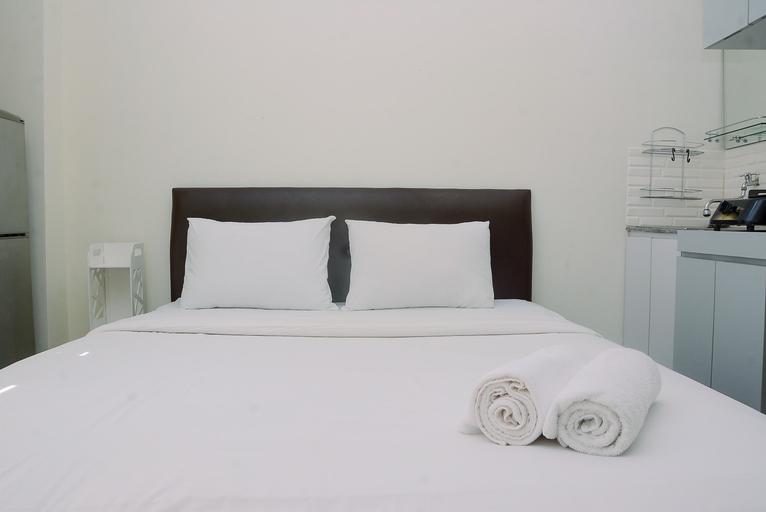 Comfort Studio at Green Pramuka Apartment near Shopping Center By Travelio, Central Jakarta