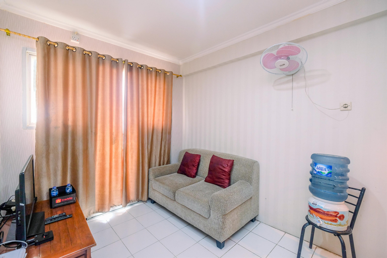 Fully Furnished with Comfortable Design 2BR Apartment Sentra Timur Residence By Travelio, East Jakarta