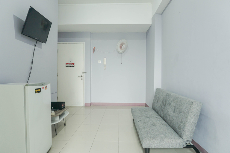 Comfy and Modern 2BR Seasons City Apartment with City View By Travelio, West Jakarta