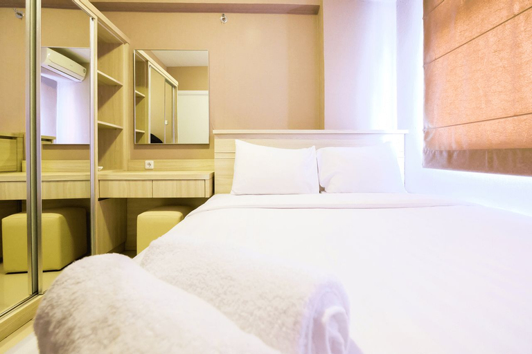 Easy Access to Mall 2BR Green Pramuka Apartment By Travelio, Central Jakarta