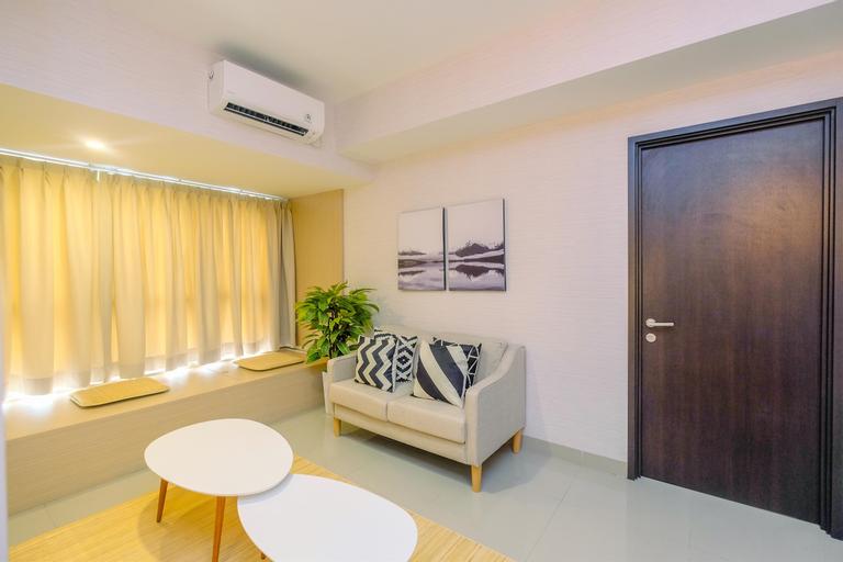 Spacious 1BR + Study Room Orange County Apartment in Meikarta's CBD Area By Travelio, Cikarang