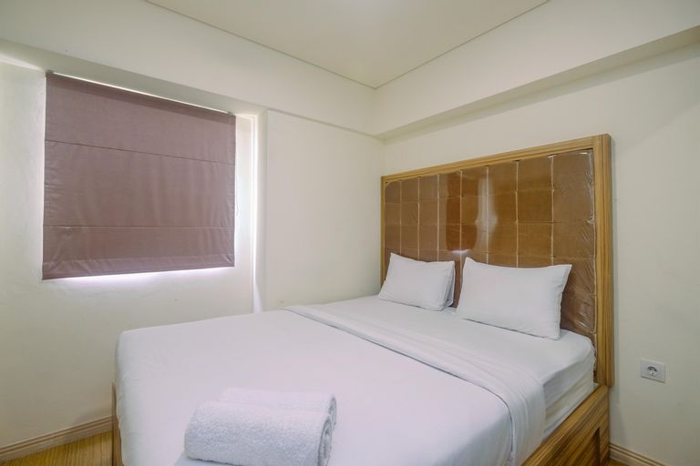 Modern Design 3BR at Meikarta Apartment By Travelio, Cikarang