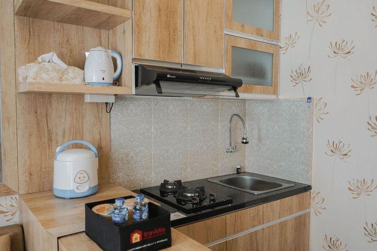 Best Furnished 2BR Mall Access at Green Pramuka Apartment By Travelio, Central Jakarta