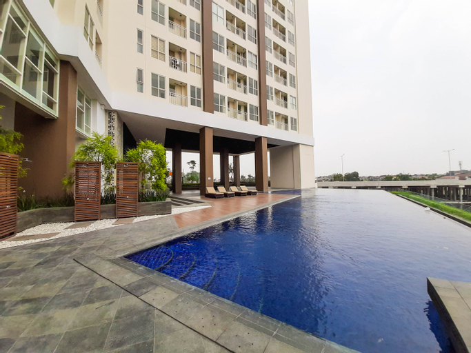 New Furnished and Homey 1BR at Silk Town Apartment By Travelio, Tangerang