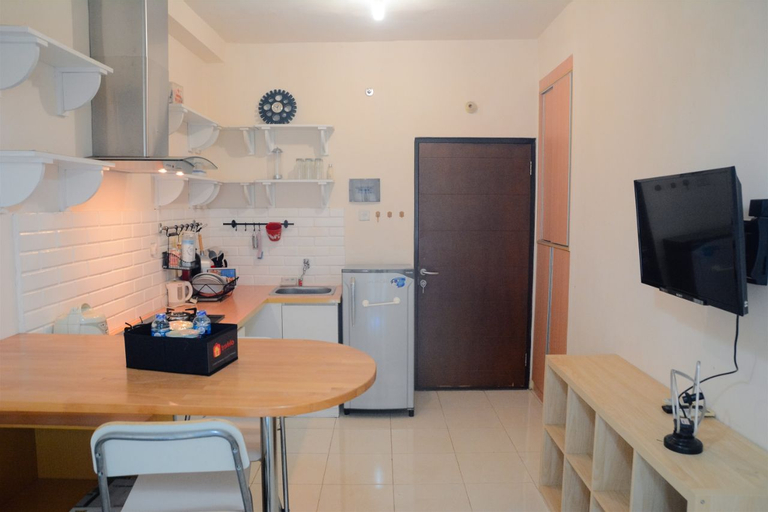 Pool View 1BR Salemba Residence By Travelio, Central Jakarta
