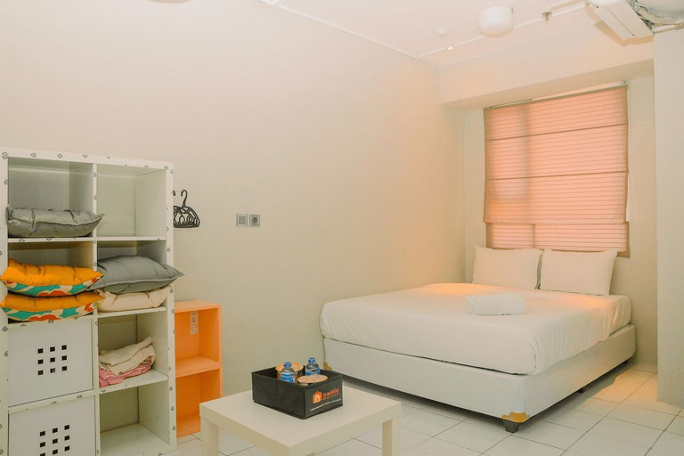 City View Studio Apartment at Menteng Square By Travelio, Central Jakarta