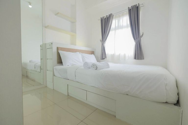 2BR at Green Pramuka Apartment with Mall Access By Travelio, Central Jakarta