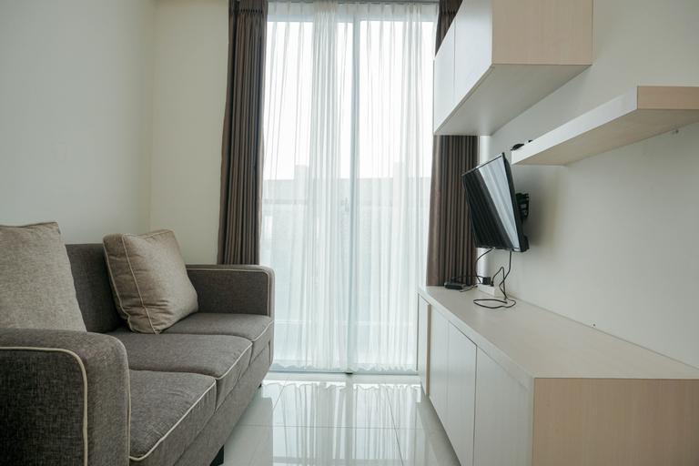 Comfort 1BR Sedayu City Suites Apartment By Travelio, East Jakarta