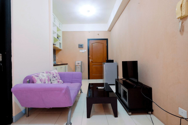 Homey Studio Apartment @ Salemba Residence  By Travelio, South Jakarta