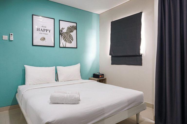 Modern 1BR Apartment at Atlanta Residence By Travelio, Depok