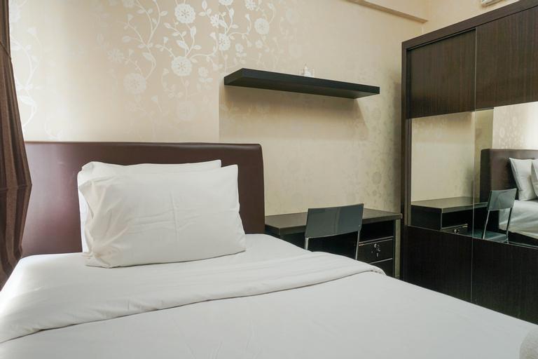 Fully Furnished Modern Minimalist 2BR @ Puri Park View Apartment By Travelio, West Jakarta