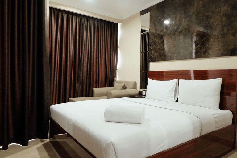 Modern Chic Studio Menteng Park Apartment By Travelio, Central Jakarta