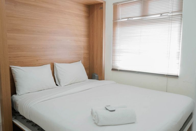 Modern with City View 2BR at Green Pramuka Apartment By Travelio, Central Jakarta