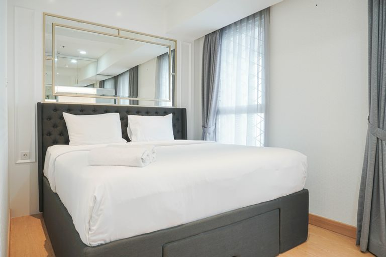 Brand New and Luxury 1BR at West Vista Apartment By Travelio, West Jakarta