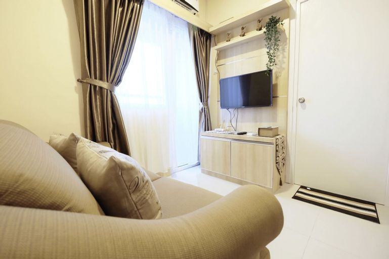 Cozy 2BR Green Pramuka Apartement Direct Access to GPS Mall by Travelio, Jakarta Pusat
