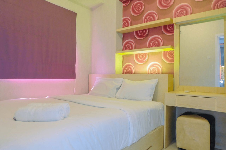 Warm 2BR Apartment at Green Pramuka City By Travelio, Central Jakarta