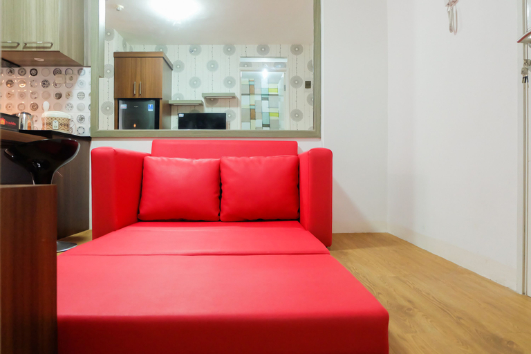 City View 2BR Apartment Bassura City near Shopping Mall By Travelio, East Jakarta