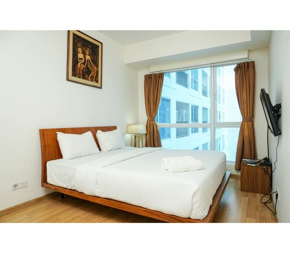 Strategic and Exclusive Stay 1BR @ Casa Grande Apartment By Travelio, Jakarta Selatan