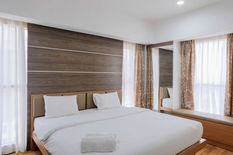 Homey 2BR Apartment at Serpong M-Town Signature By Travelio, Tangerang