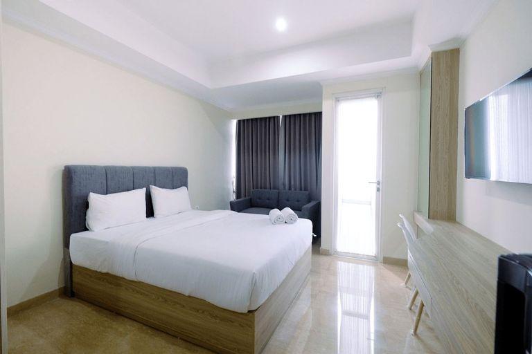 Cozy Studio Menteng Park Apartment By Travelio, Central Jakarta