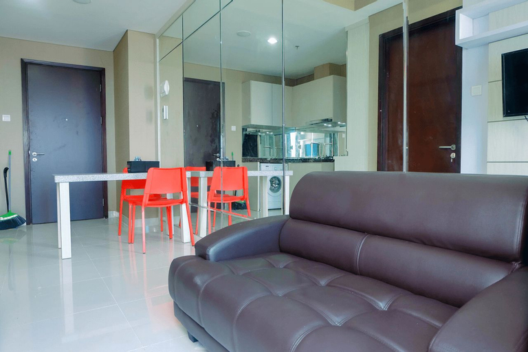 City View 1BR at Puri Mansion Apartment By Travelio, West Jakarta