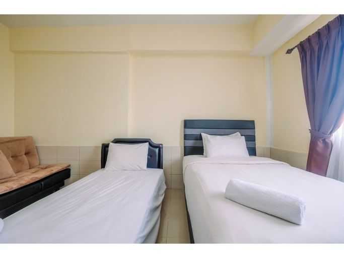 Homey Good Studio Depok Park View Condominium Apartment By Travelio, Depok