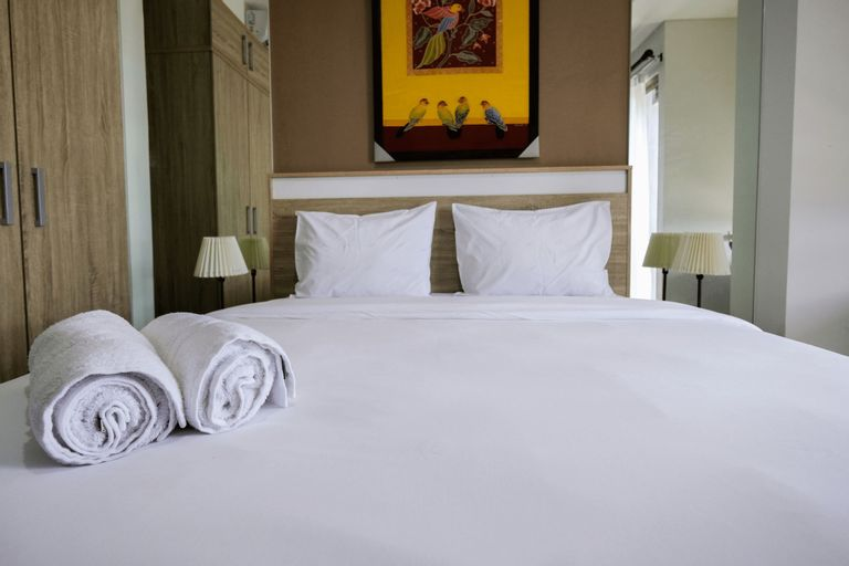 New Furnished Studio Apartment Springwood Residence By Travelio, Tangerang