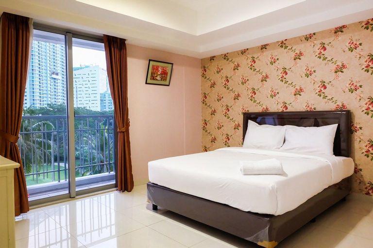 1BR Homey The Mansion Apartment Near Golf  Kemayoran By Travelio, Jakarta Utara