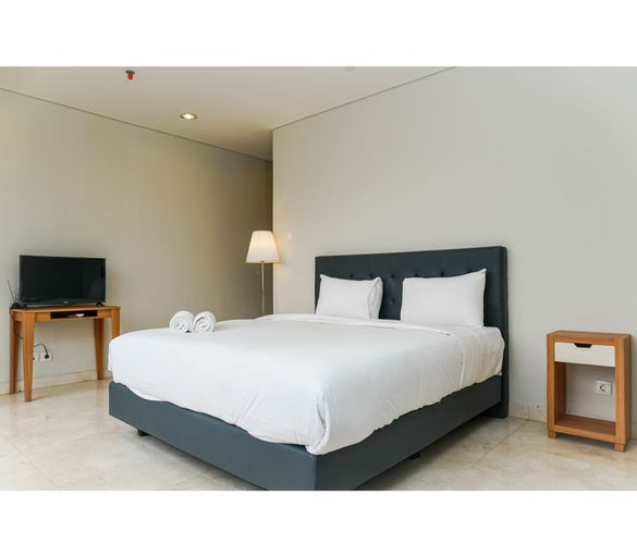 Spacious and Elegant 2BR @ The Masterpiece Apartment By Travelio, South Jakarta