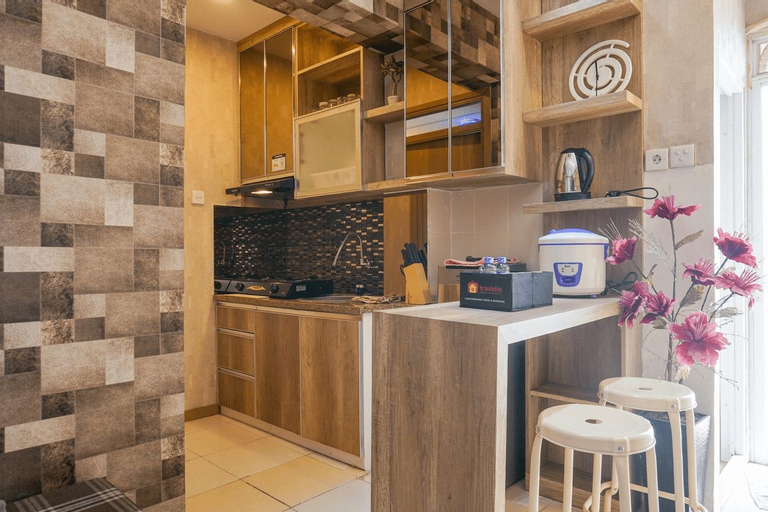Comfortable 3BR Apartment at Green Palm Residences By Travelio, West Jakarta