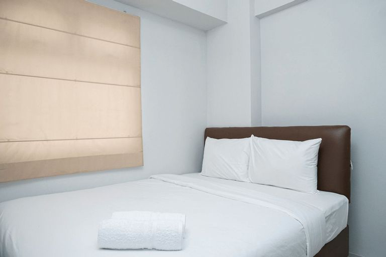 Tranquil Green Pramuka 2BR Apartment near Shopping Center By Travelio, Central Jakarta