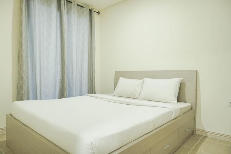 Comfy and Modern 2BR at Meikarta Apartment By Travelio, Cikarang