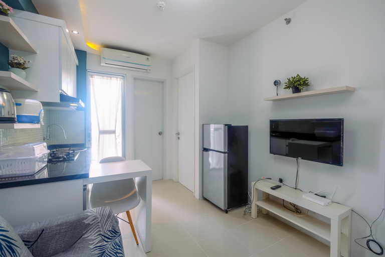 Clean and Simply Cozy 2BR Bassura City Apartment By Travelio, East Jakarta
