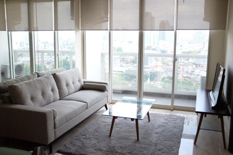 Strategic 2BR Private Lift at Menteng Park Apartment By Travelio, Central Jakarta