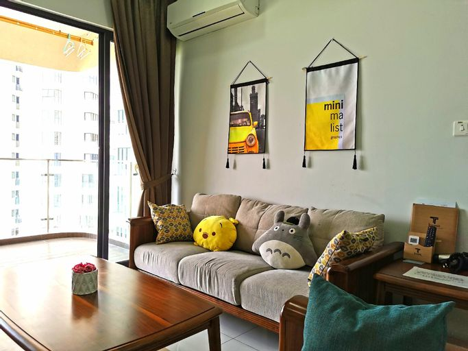 Nordic  2bedroom @Beletime Danga Bay, Johor Bahru
